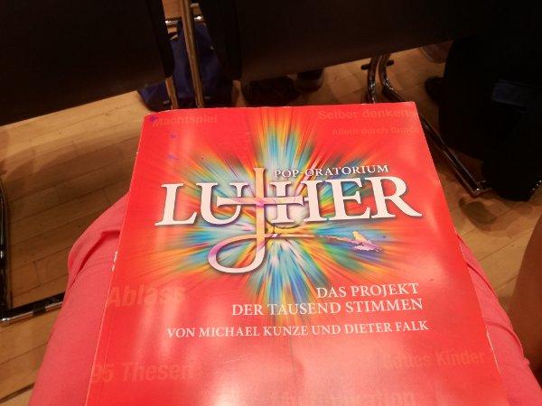 Luther Oratorium Klavierauszug